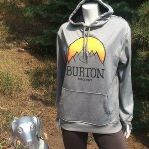 Burton Dryride Logo Sun Mountains Hoodie